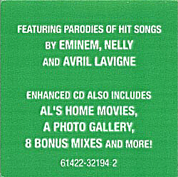 CD hype sticker